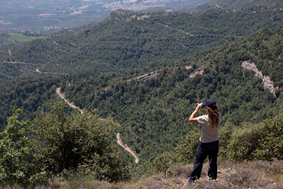 Pla d'Informació i Vigilància contra Incendis Forestals. Autor: Diputació de Barcelona