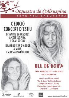 X Edició del Concert d'Estiu de l'Orquestra de Collsuspina