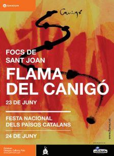 Cartell d'Omnium Cultural de la Flama del Canigó