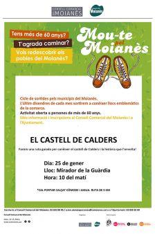 Mou-te pel Moianès: El Castell de Calders. Cartell promocional