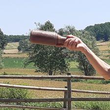 Es crea un equip de bitlles catalanes a Collsuspina. Imatge d'un bitllot