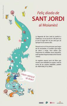 Campanya d'igualtat per Sant Jordi al Moianès